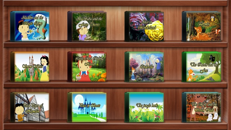 Classic Fairy Tales for Kids Vol.1 screenshot-0