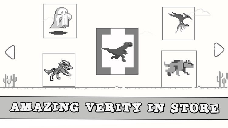 Dinosaur Widget Jumping Steve: 8bit Game