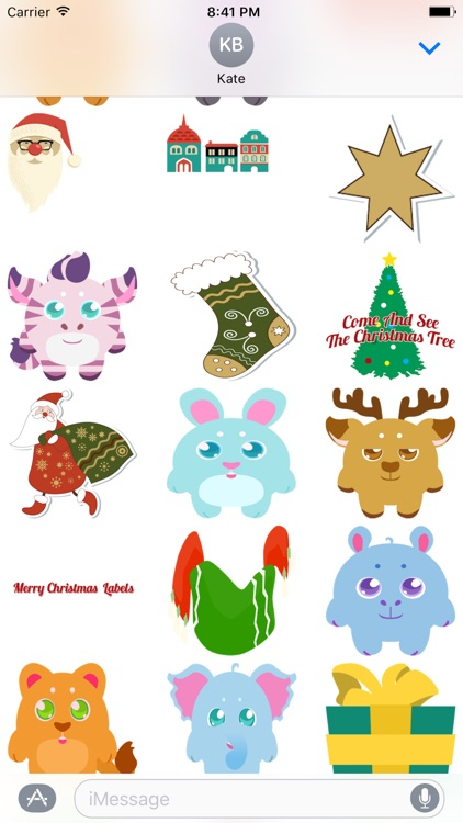 Very Merry Christmas - Fc Sticker