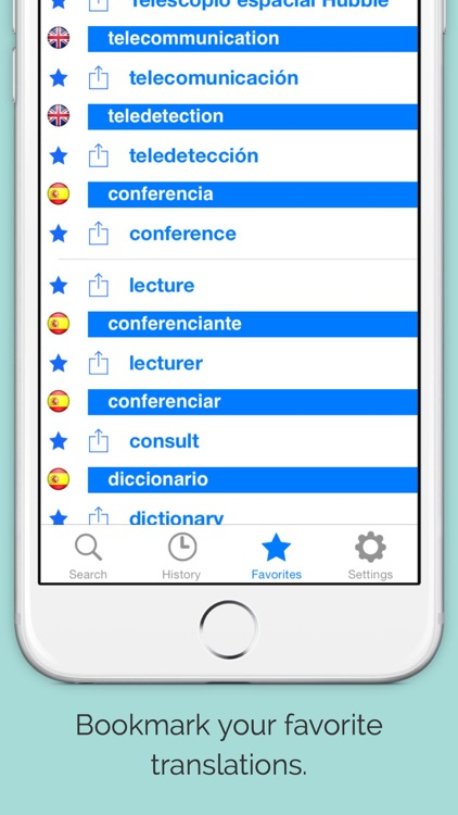 Offline English Spanish Dictionary with Voice