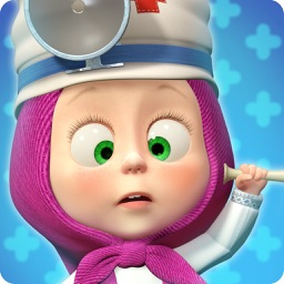 Masha and the Bear Hospital: animal doctor games