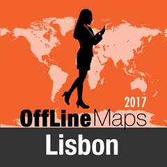 Lissabon Offline Karte und Reiseführer