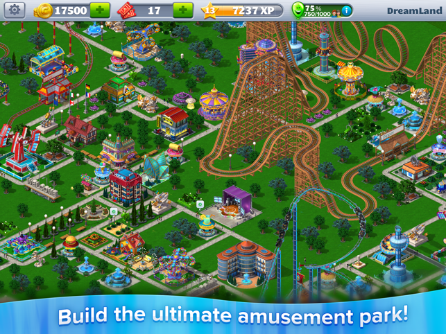 ‎RollerCoaster Tycoon® 4Mobile™ Capture d'écran