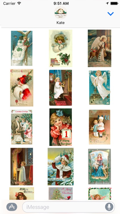 Merry Christmas & Happy New Year - Greetings cards
