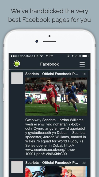Scarlets Rugby screenshot-3