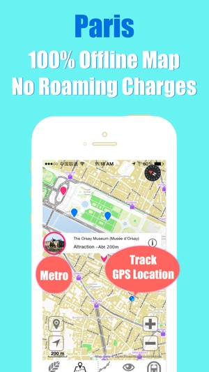 Paris tube transit trip advisor ratp guide & map on the App Store