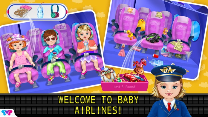 Baby Airlines Screenshot