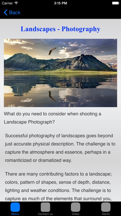 Photography Tips & Photography Techniques screenshot-3