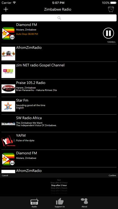 Zimbabwean Radio screenshot three