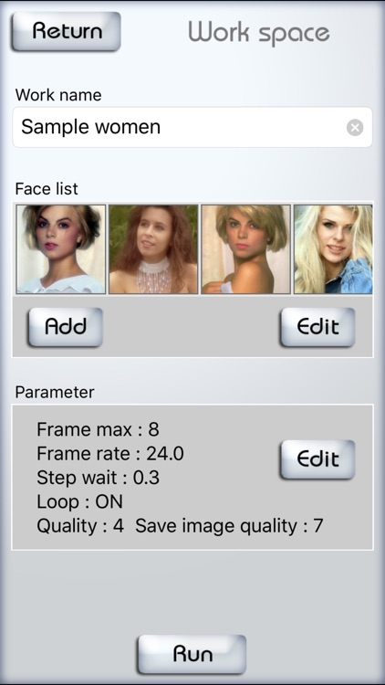 FaceMorph - Morphing multiple faces in a row. screenshot-3