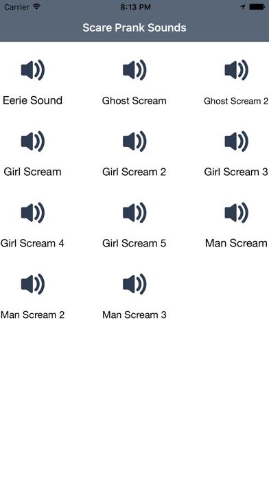 Scare Prank Sounds - Scream | App Price Drops