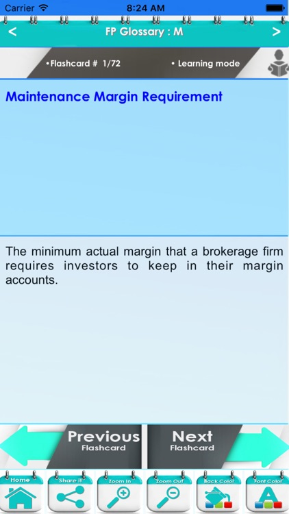 Financial Planning Glossary 1300 Flashcards Study Notes screenshot-4