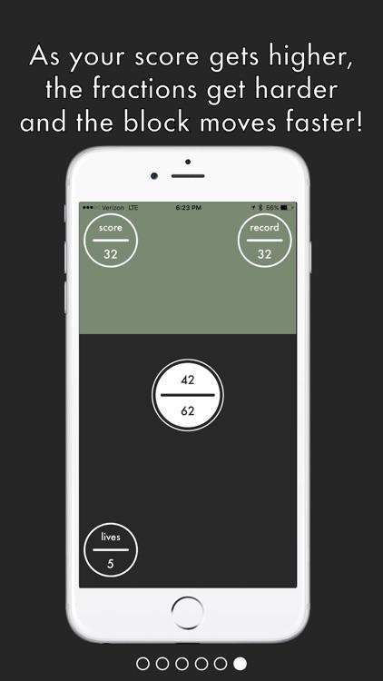 Fraction Tap screenshot-3