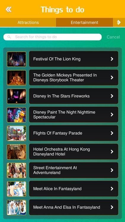 Great App for Hong Kong Disneyland