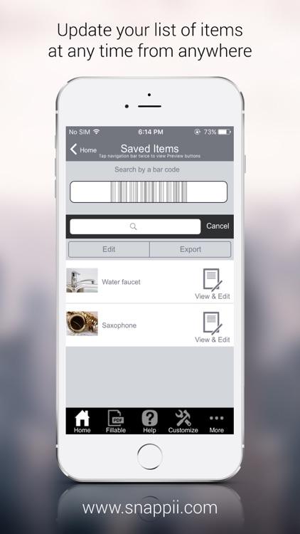 Home Inventory App screenshot-3