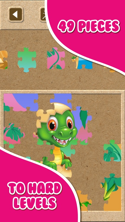 Dinosaur Jigsaw Puzzle.s Free Toddler.s Kids Games screenshot-3