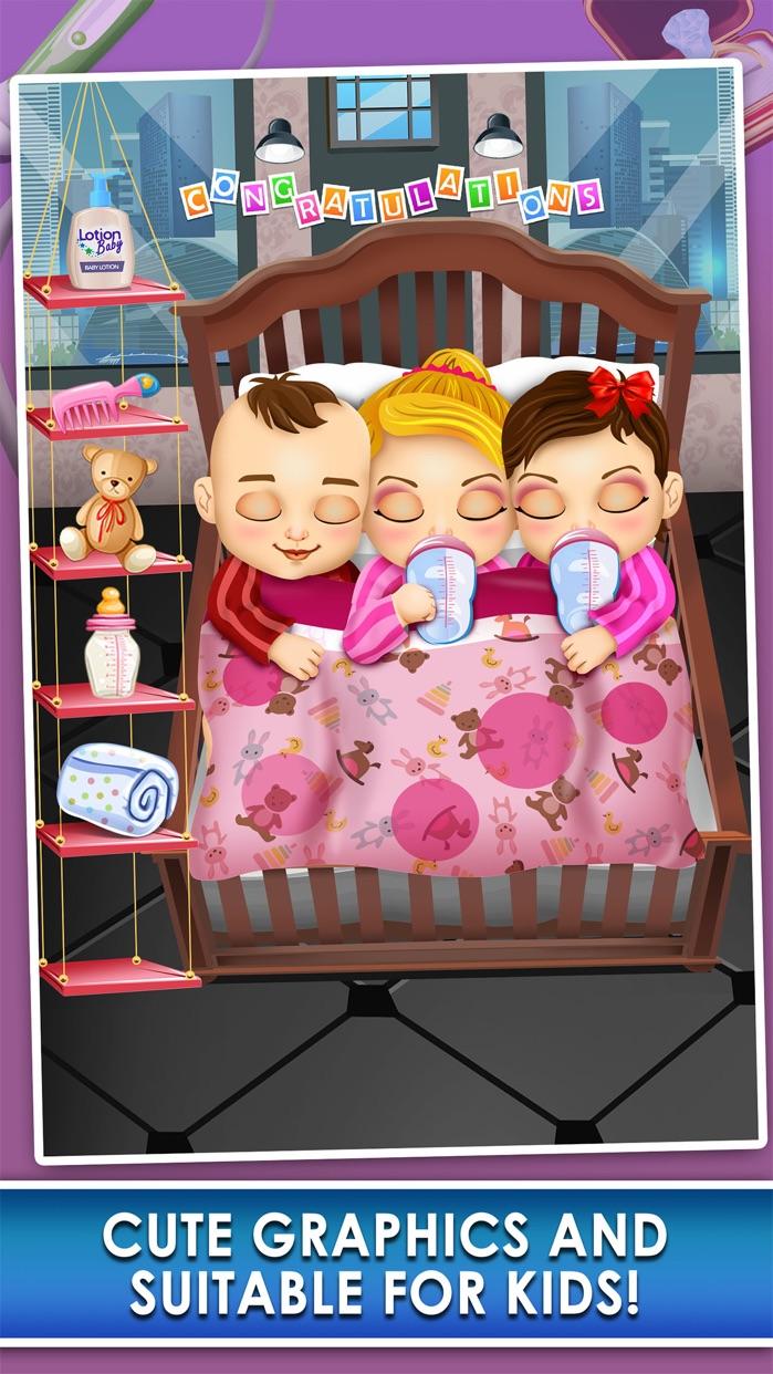 Triplet Baby Doctor Salon Spa Screenshot