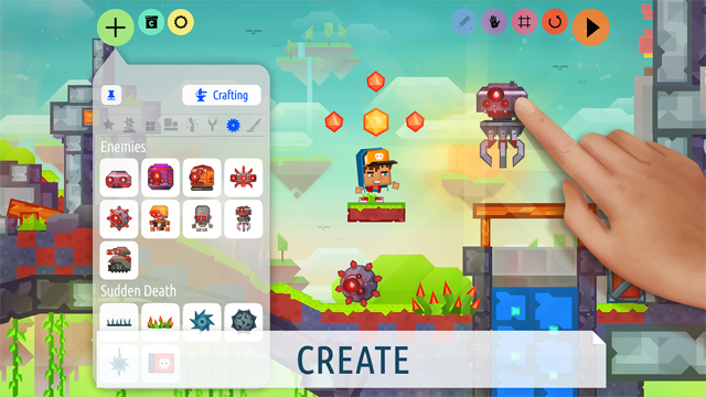 Craft your games! - Createrria 2 Screenshot