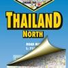 Thailand North. Road map.