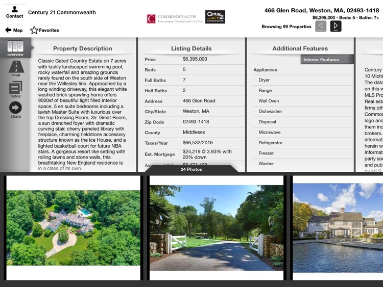 Commonwealth Real Estate for iPad screenshot-3