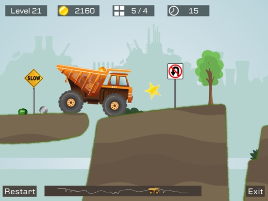 Screenshot #5 pour Big Truck -Mine Express Racing