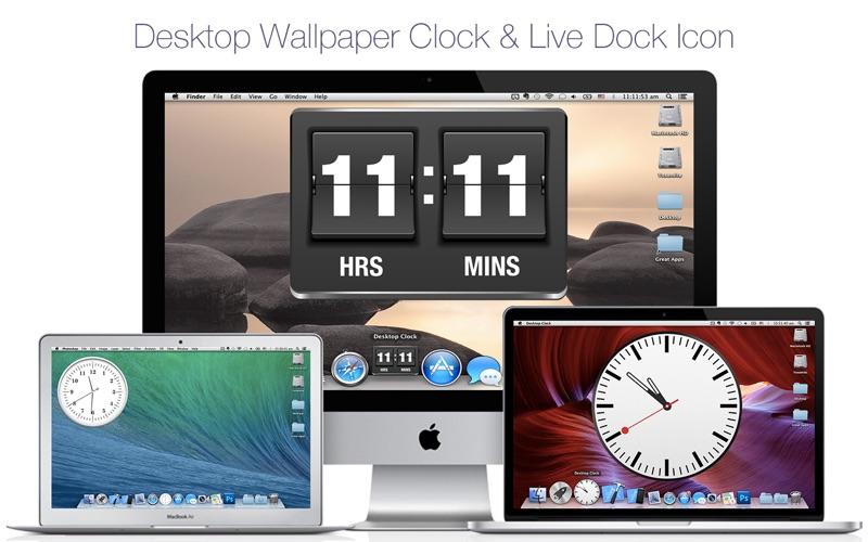 Screenshot 1 For Desktop Clock Live