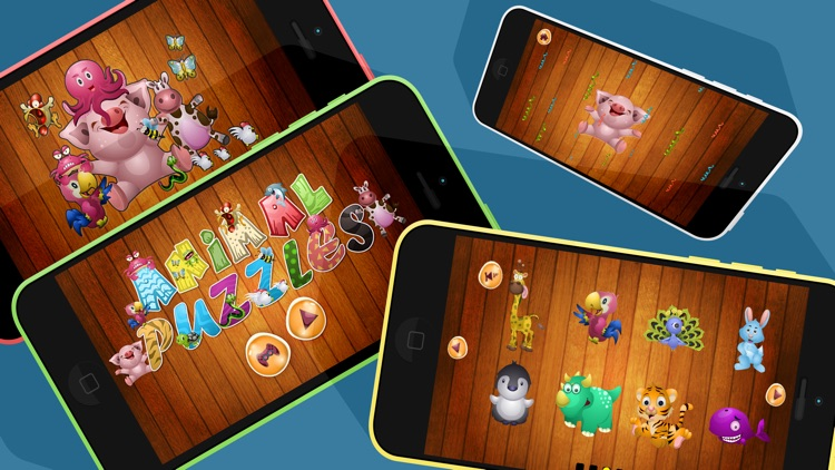 Kids Games Animal Puzzles for Toddlers