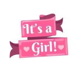 It's A Girl! Stickers