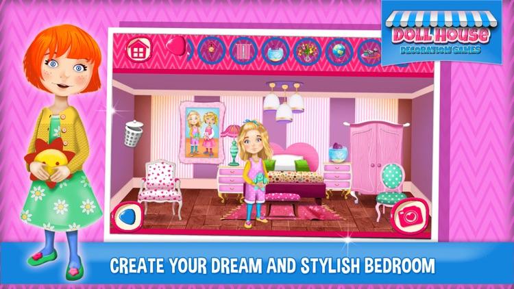 Doll House Decoration Games: Dream Home Design.er screenshot-3