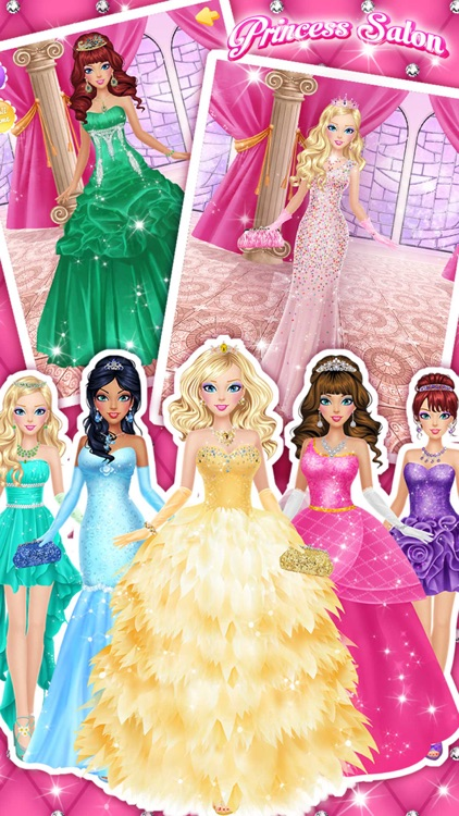Princess Salon™ - Girls Makeup, Dressup and Makeover Games screenshot-4