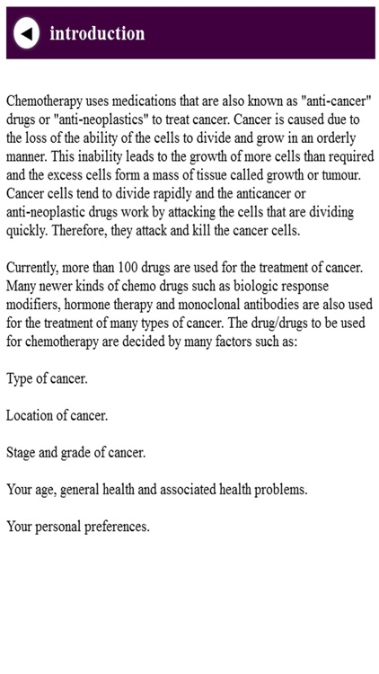 Chemotherapy screenshot-4