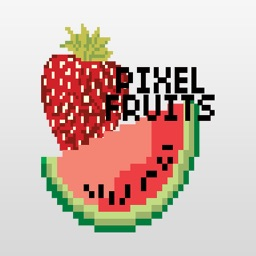 Pixel Fruits Stickers for iMessage