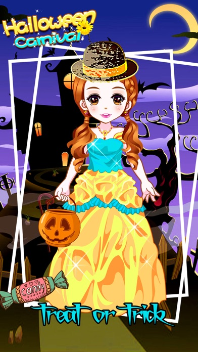 Halloween Carnival - Makeover Game for girls screenshot three