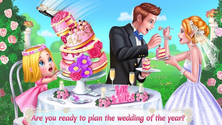 Wedding Planner - Dress Up, Makeup & Cake Design