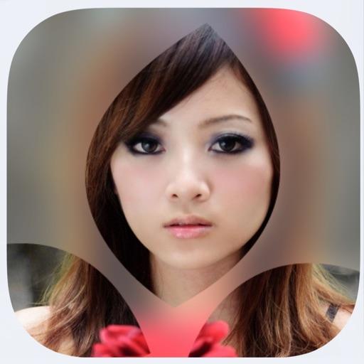 InstaBlury - blur background shape photo effect iOS App