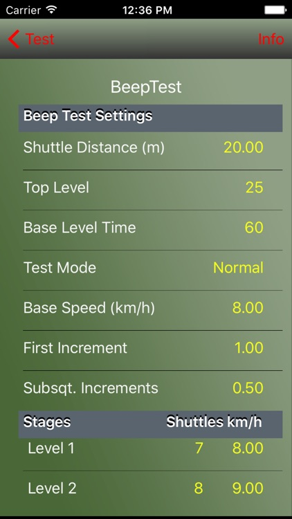 AeroExaminer - Aerobic VO2 Max Test & Conditioning