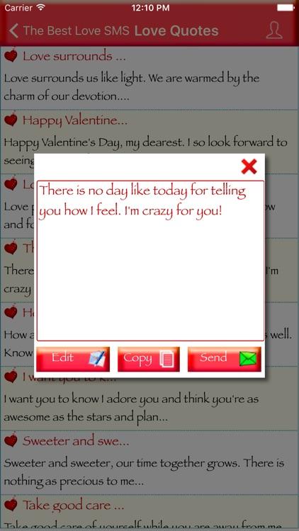 The Best Love SMS screenshot-3