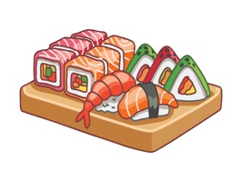 Sushi Stickers for iMessage #3