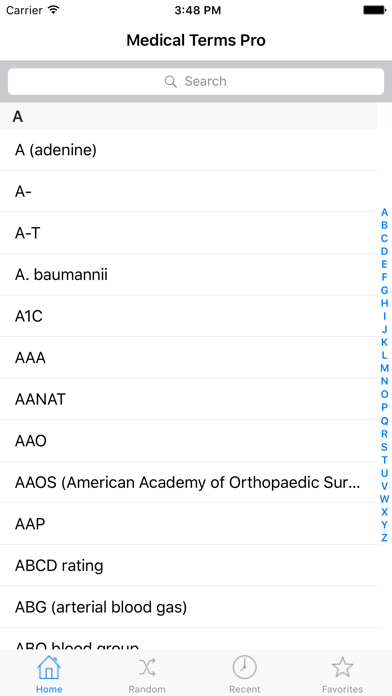 Medical Terms For Ipad review screenshots