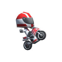 Racermoji - Sport Bike Edition. Animated Stickers
