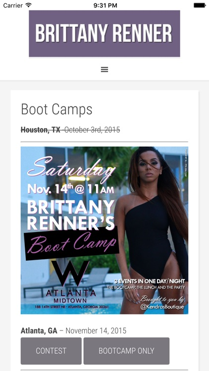 B.Renner Fitness by Brittany Renner screenshot-3