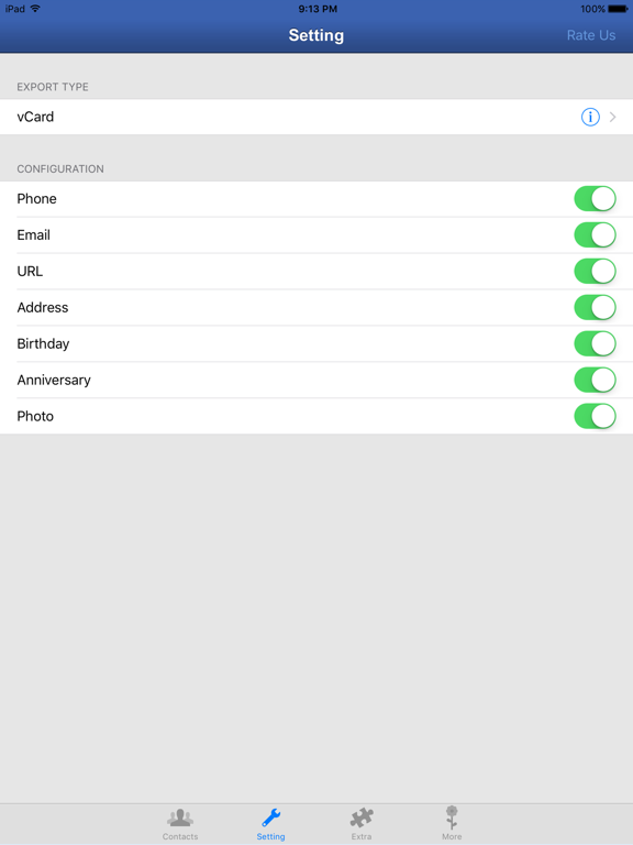 My Contacts Backup - facile, rapide, fiable