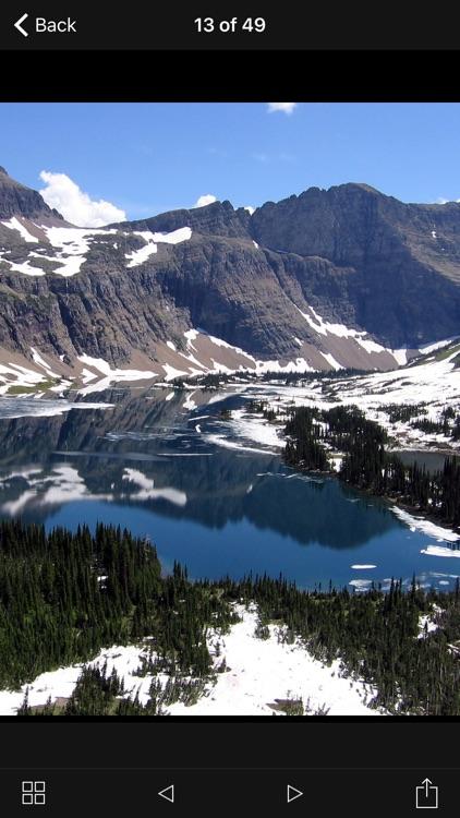 Glacier National Park Travel Explorer screenshot-4