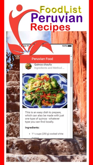 Easy peruvian food recipes on the app store forumfinder Images