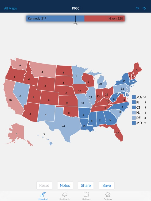 Presidential Election u0026 Electoral College Maps