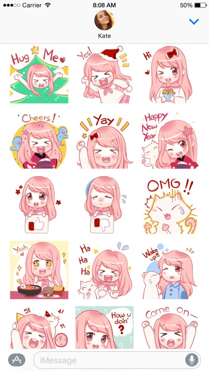 Hanako stickers screenshot-3