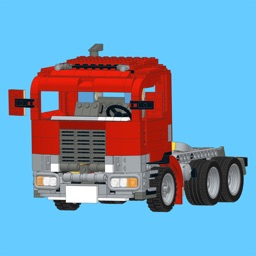 Red Truck Mk2 for LEGO - Building Instructions