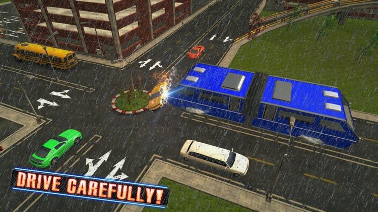 Futuristic Elevated Bus Simulator – Bus Driving screenshot-3