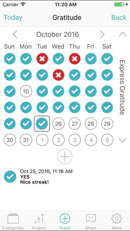 Gratitude & Happiness - Self-help Mood Tracker screenshot-2