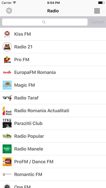 Magic radio channel number